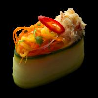Mango & Crab Gunkan