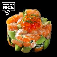 Salmon Tartare & Rice