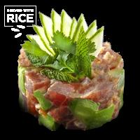 Spicy Tuna Tartare & Rice