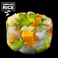 Yellowtail, Mango Tartare & Rice