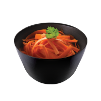 Carrot salad with citrus dressing