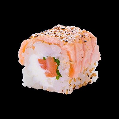 salmon-aburi-roll