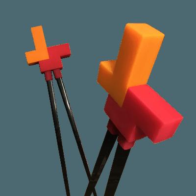 Tetris™ chopsticks