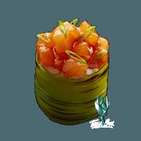 Teriyaki Salmon Tulip