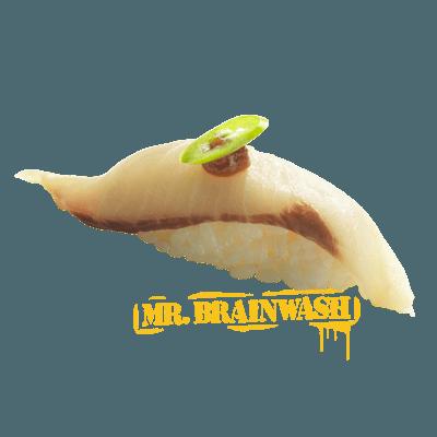 Yellowtail Miso Yuzu Sushi