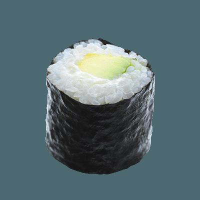 avocado-cheese-maki-roll