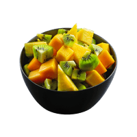 Seasonal fresh fruit salad