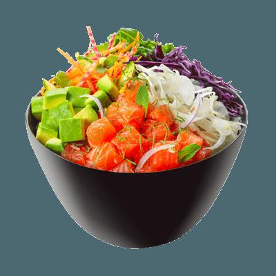 Salmon Detox Poke Bowl