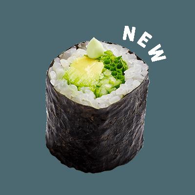 avocado-wasabi-maki-roll
